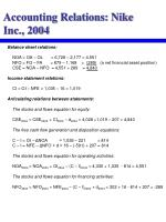 accounting relations nike inc 2004