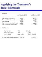 applying the treasurer s rule microsoft