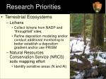 research priorities1