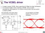 the vcsel driver