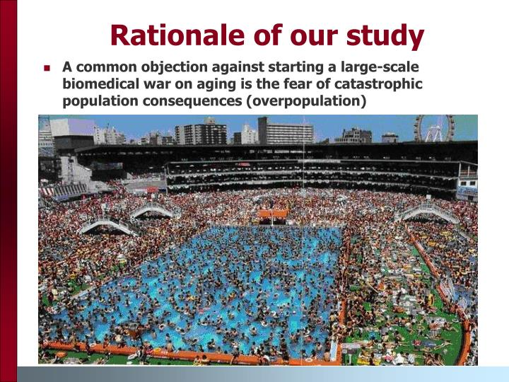 Rationale of our study