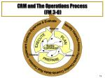 crm and the operations process fm 3 0