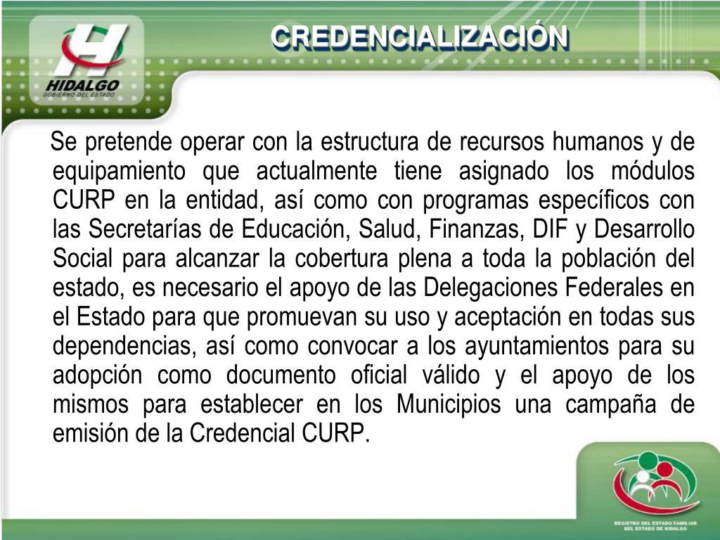 Ppt Rol Del Renapo En Los Proceso De Credencialización