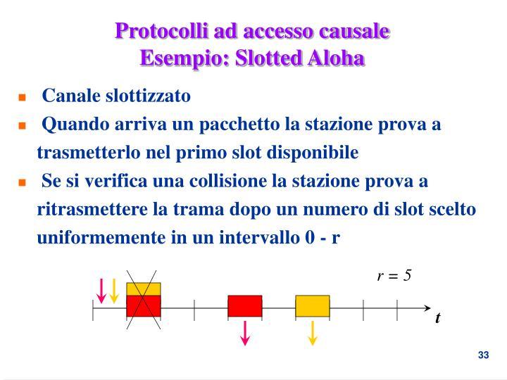Protocolli ad accesso causale