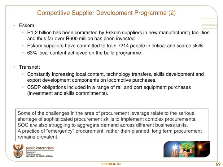 Competitive Supplier Development Programme (2)