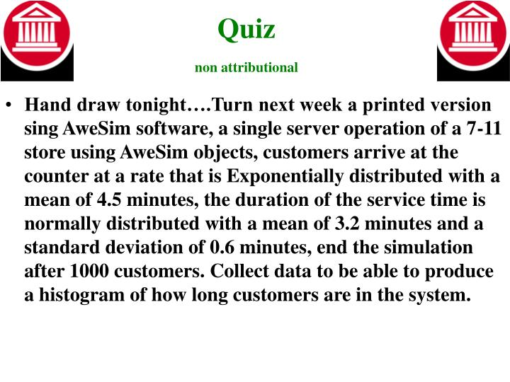 Quiz non attributional1