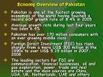 ecnomy overview of pakistan3