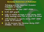 ecnomy overview of pakistan5