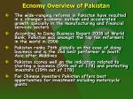 ecnomy overview of pakistan7