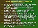 motorcycle industry in pakistan4