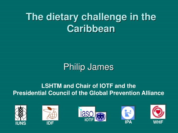 The dietary challenge in the caribbean
