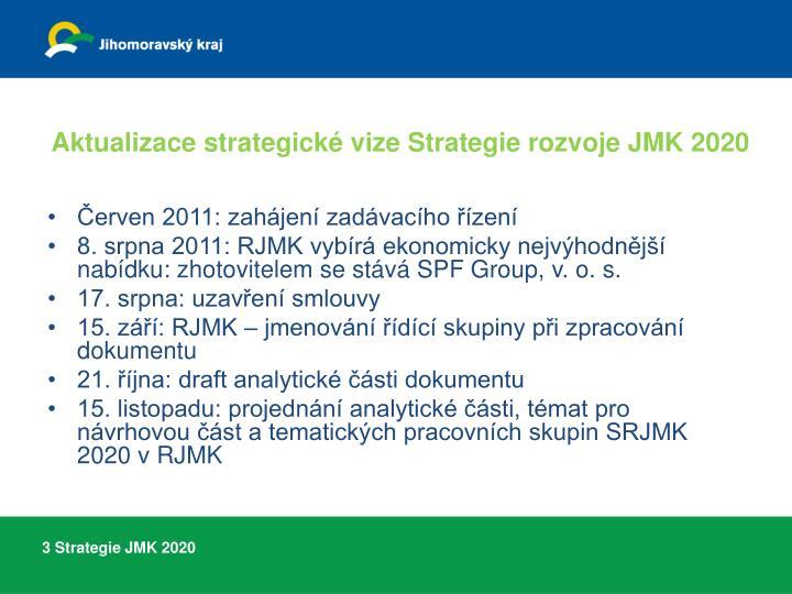Aktualizace strategick vize strategie rozvoje jmk 20201