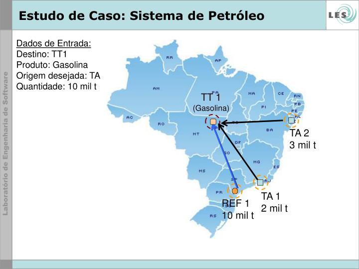Estudo de Caso: Sistema de Petróleo