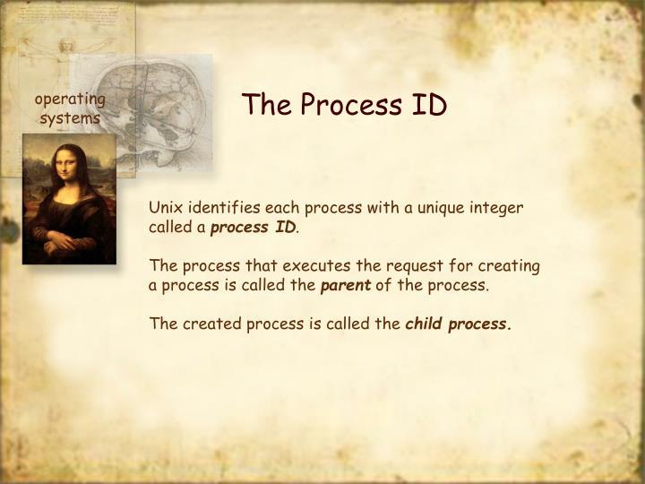 The Process ID