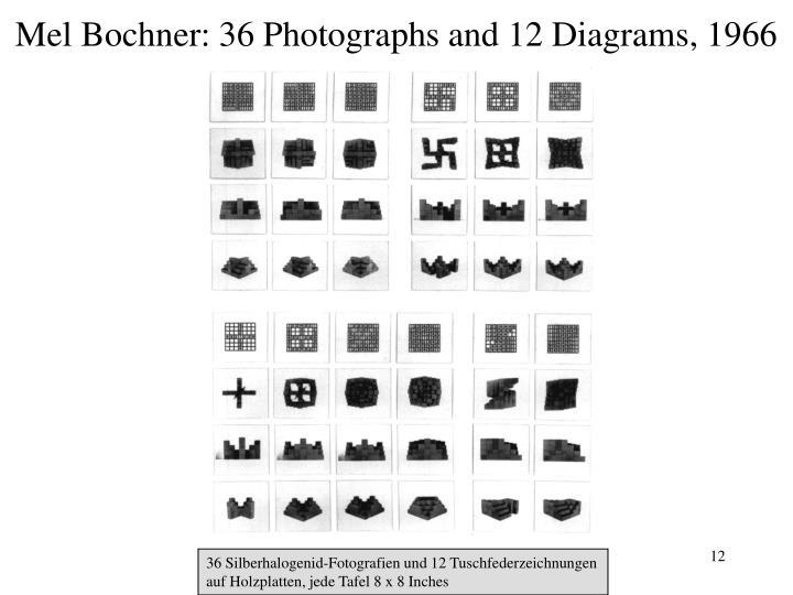 Mel Bochner: 36 Photographs and 12 Diagrams, 1966