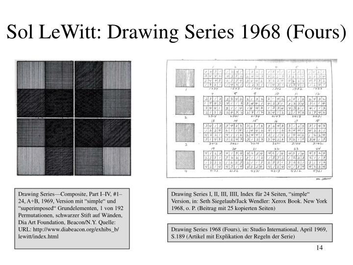 Sol LeWitt: Drawing Series 1968 (Fours)