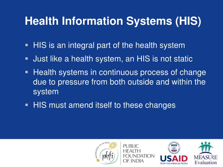Health Information Systems (HIS)