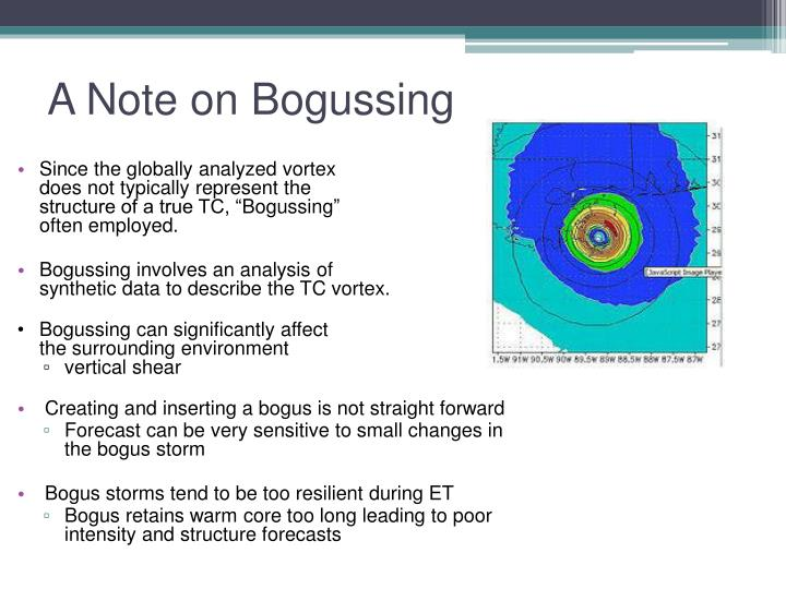 A Note on Bogussing