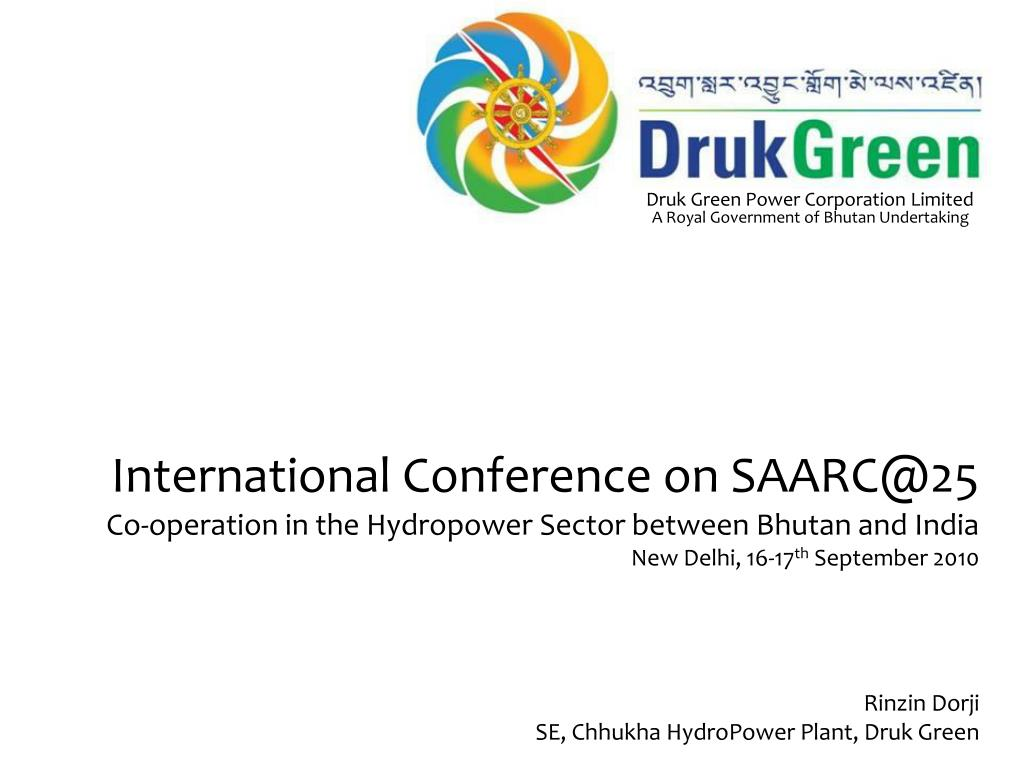 Ppt International Conference On Saarc At 25 Powerpoint Presentation