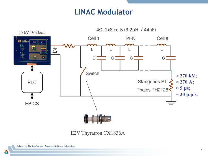 Linac modulator