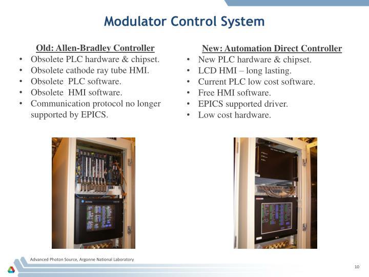 Modulator Control System