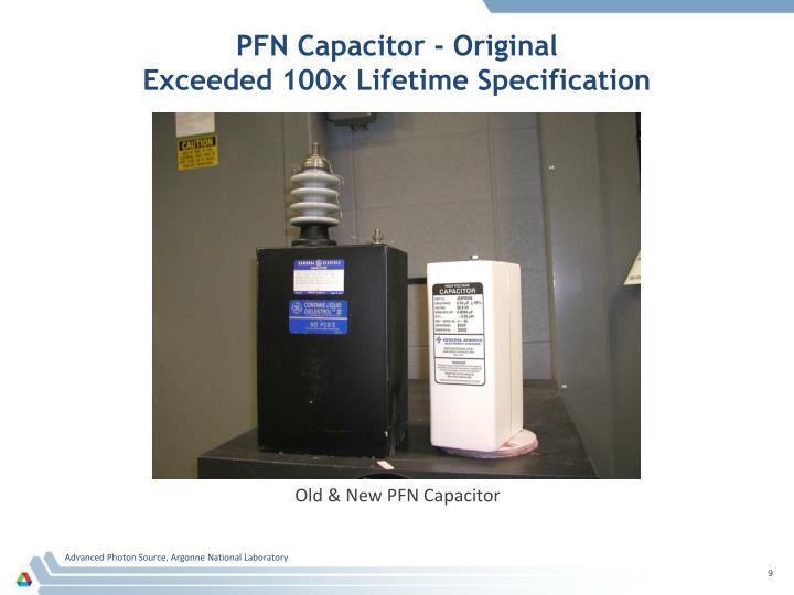 PFN Capacitor - Original