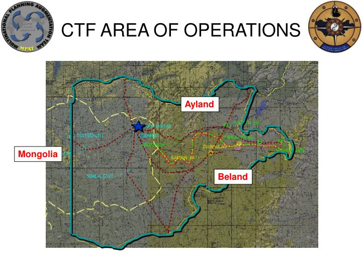 CTF AREA OF OPERATIONS