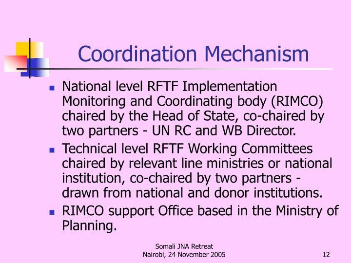 Coordination Mechanism