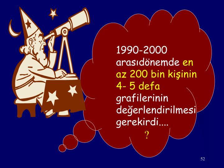 1990-2000 arasıdönemde