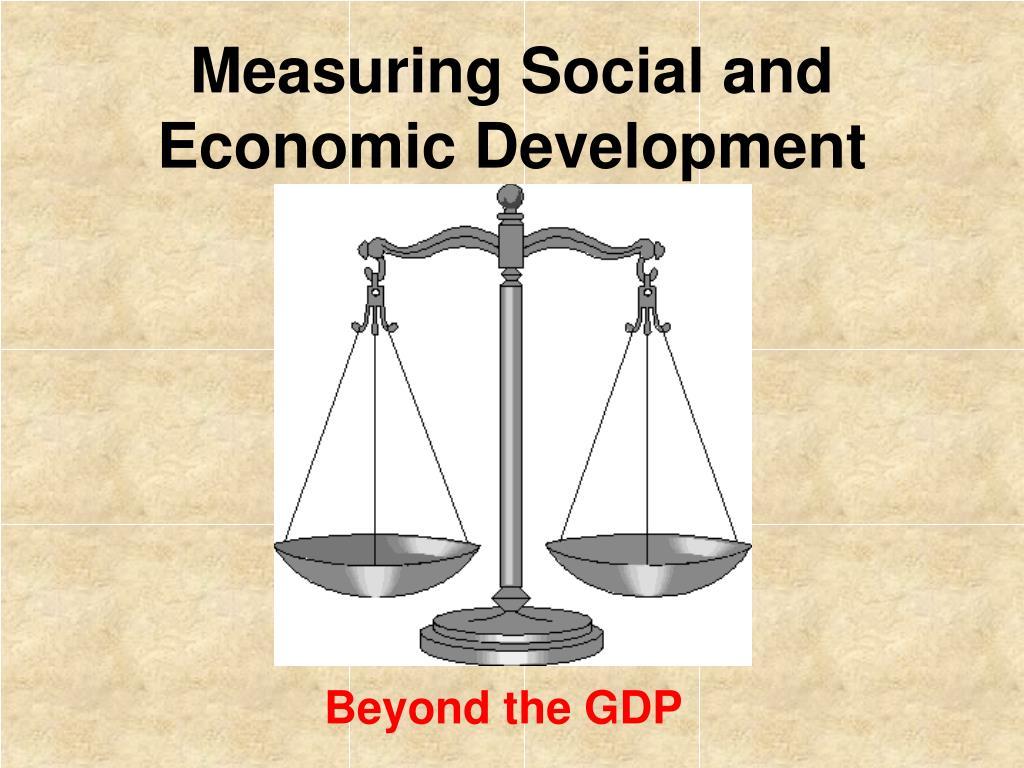 economic development and its measurement