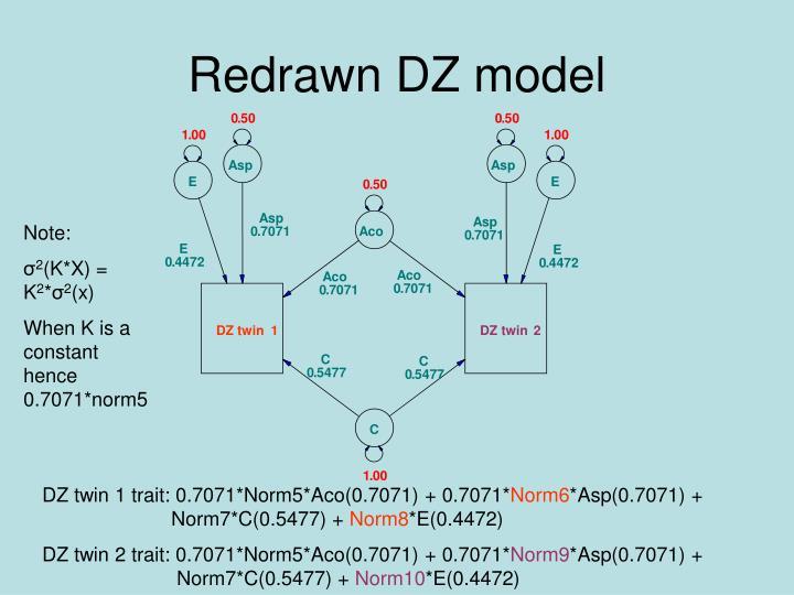 Redrawn DZ model