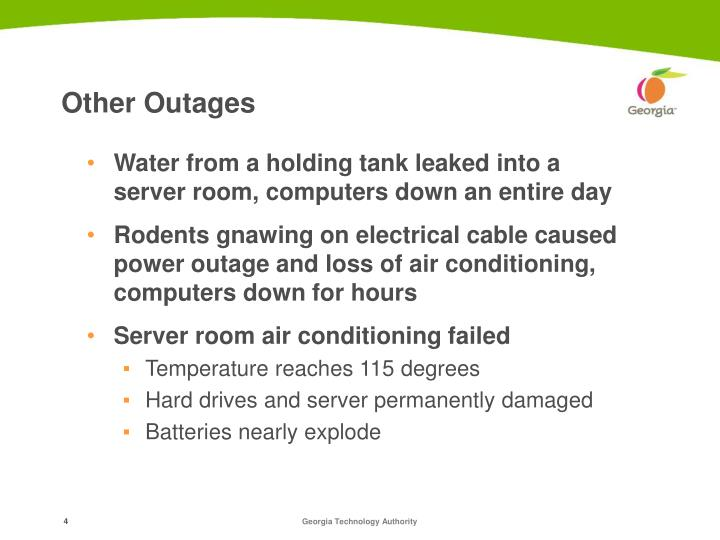 Other Outages