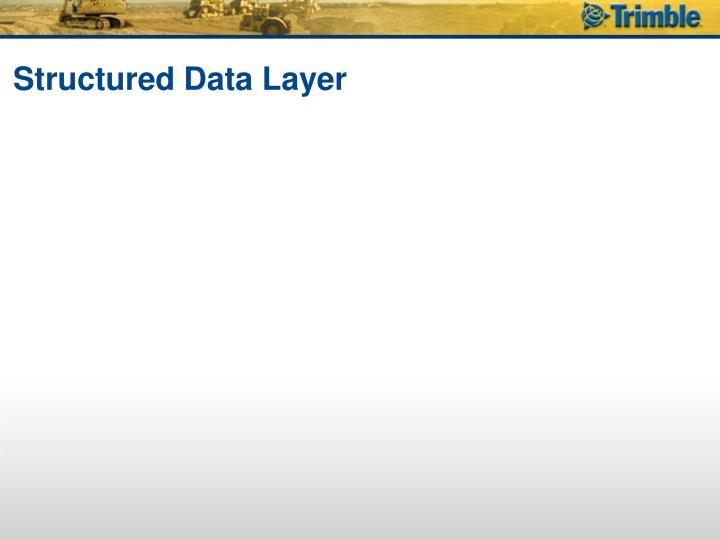 Structured Data Layer