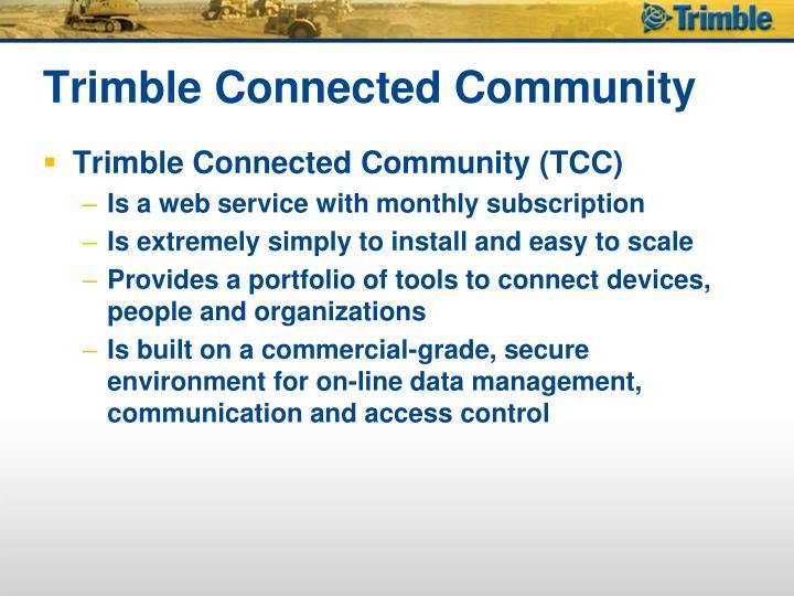 Trimble connected community1