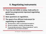 ii negotiating instruments