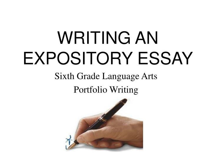 how to write an expository essay powerpoint
