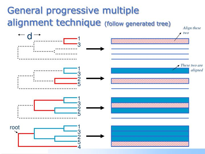 General progressive multiple