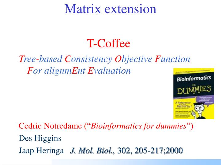 Matrix extension