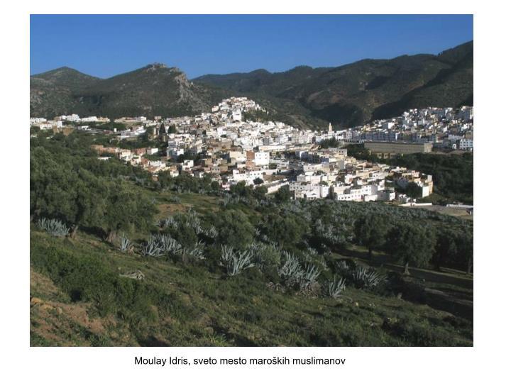 Moulay Idris, sveto mesto maroških muslimanov