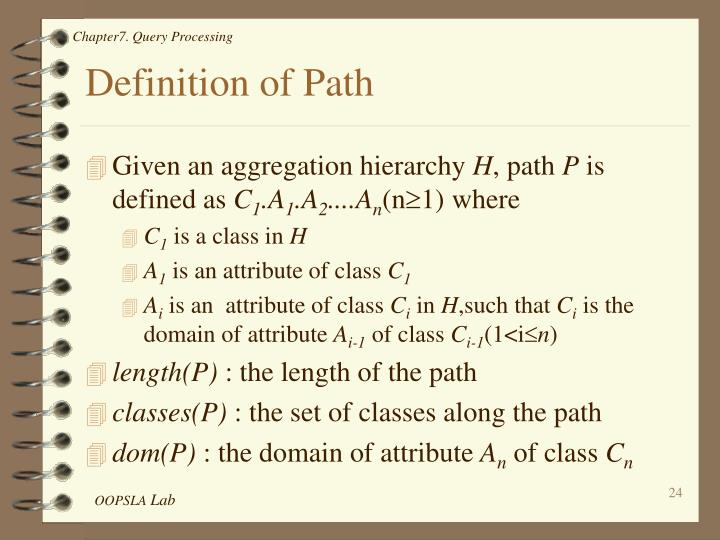 Definition of Path