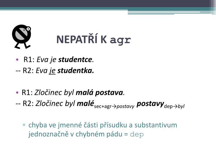 NEPATŘÍ K