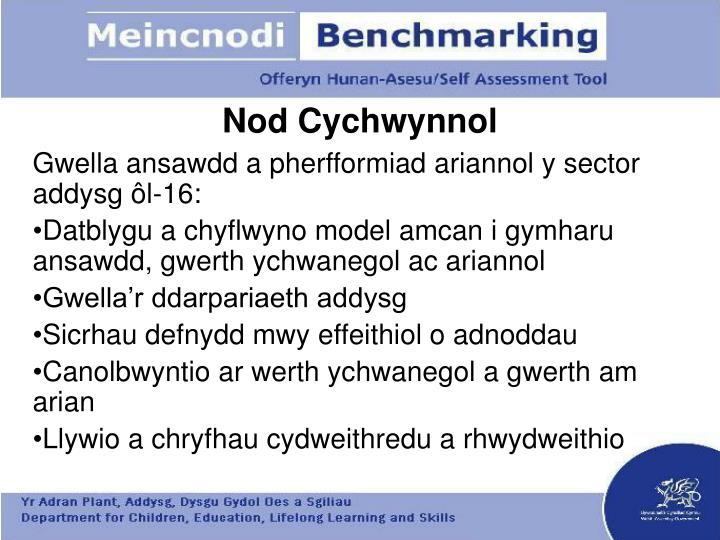 Nod Cychwynnol