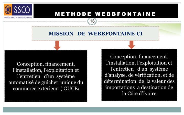METHODE WEBBFONTAINE