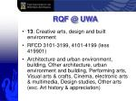 rqf @ uwa33