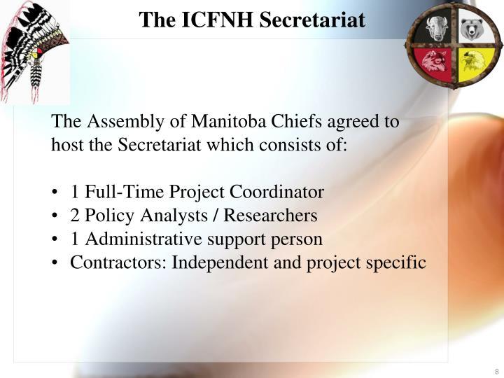 The ICFNH Secretariat