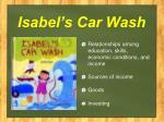 isabel s car wash