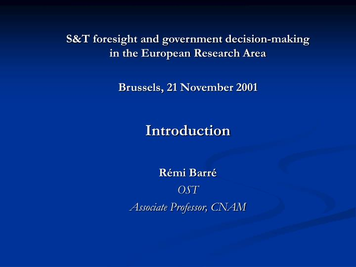 research in decision making