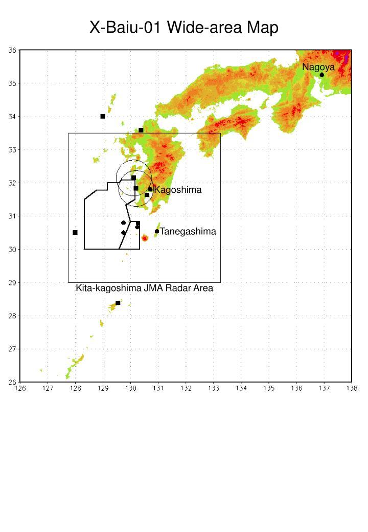 X-Baiu-01 Wide-area Map