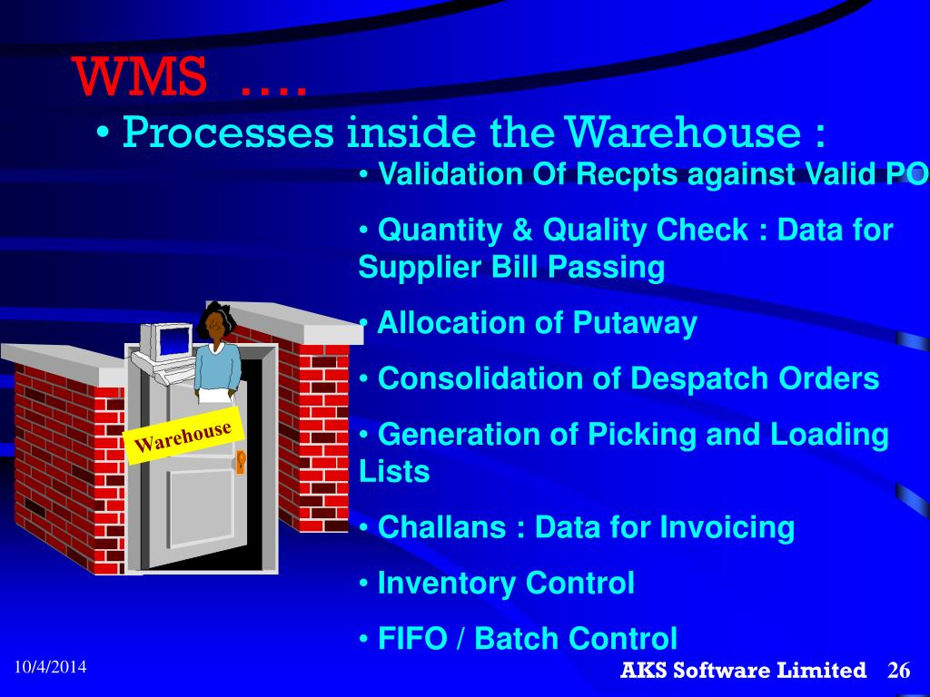 PPT - Warehouse Management System PowerPoint Presentation