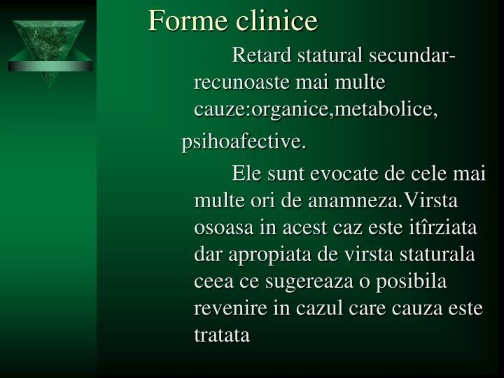 Forme clinice